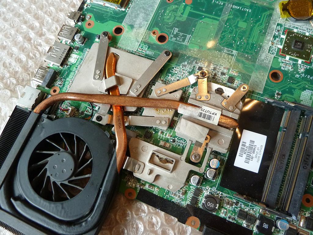 Модернизация охлаждения ноутбука своими руками 20